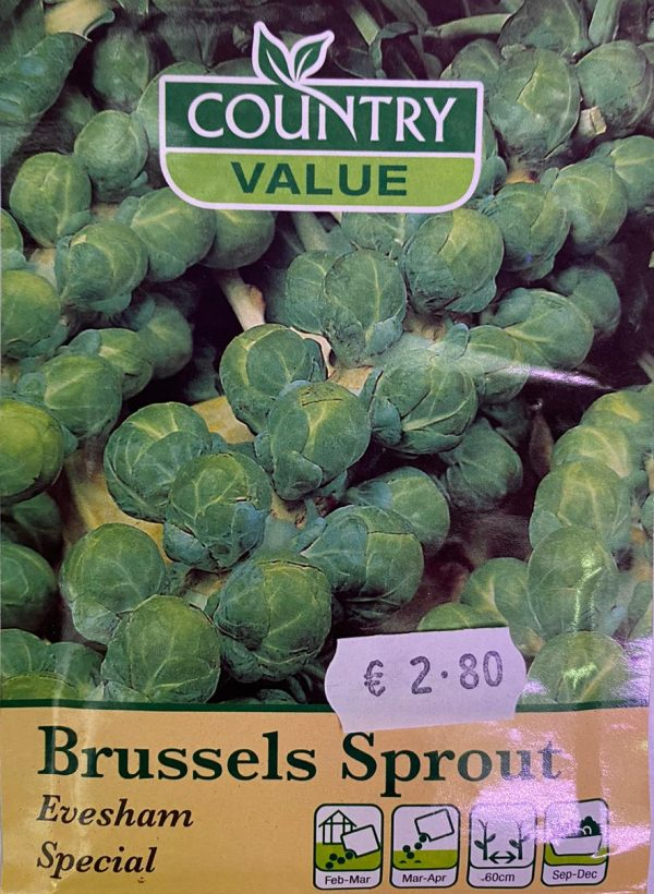 Country Value Brussels Sprout Evesham Special