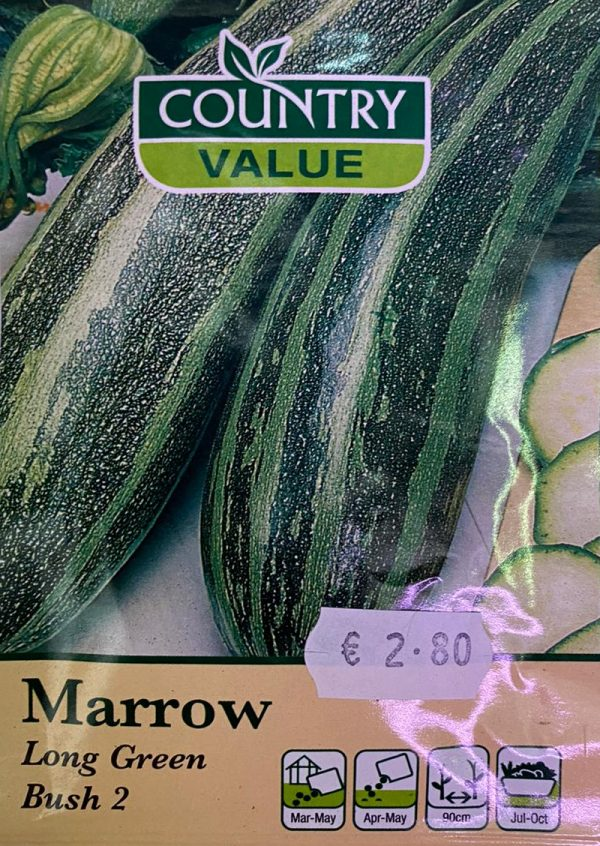 Country Value Marrow Long Green Bush 2