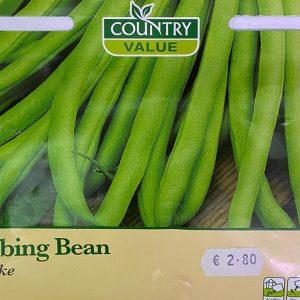 Country Value climbing bean blue lake