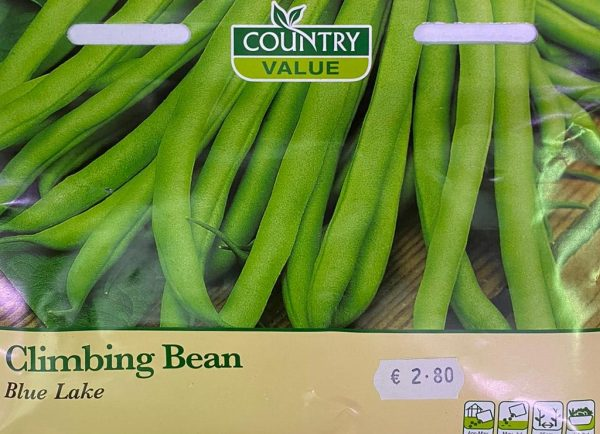 Country Value climbing bean blue lake