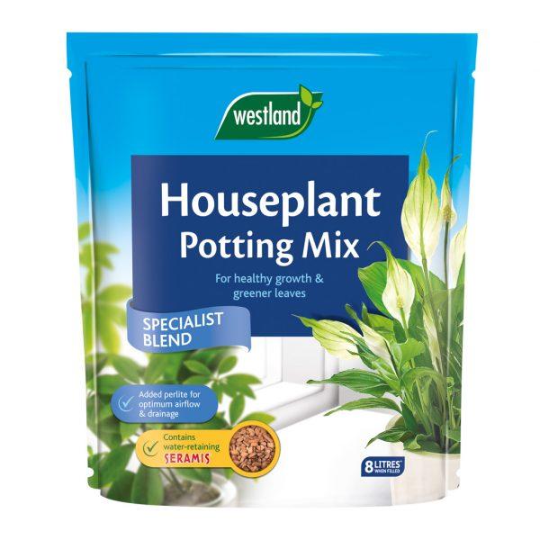 Westland Houseplant Potting Mix (Enriched with Seramis) 8L