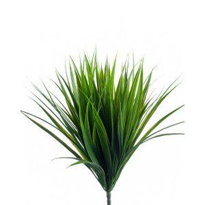 Artificial Grass bush 33cm green